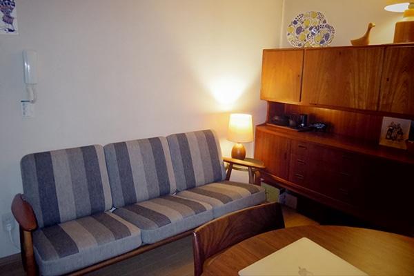北欧ビンテージ家具 GE240 3seaters sofa
