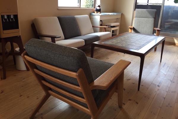 北欧ビンテージ家具 GE290 Sofa