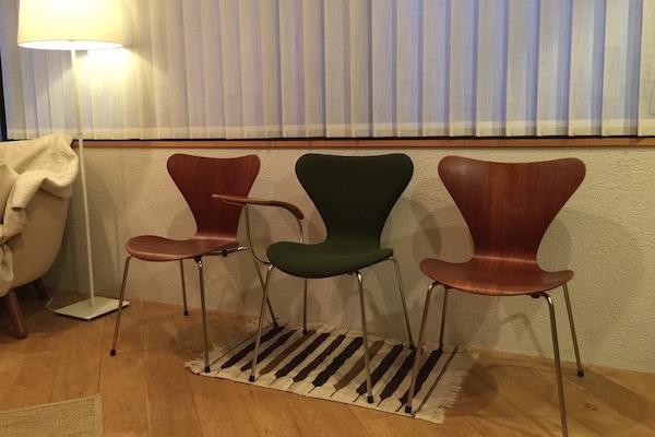 北欧ビンテージ家具 Seven Chair