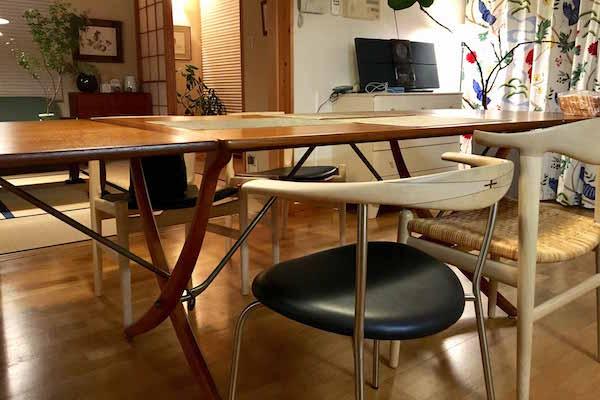 北欧ビンテージ家具 AT304 Extension Table