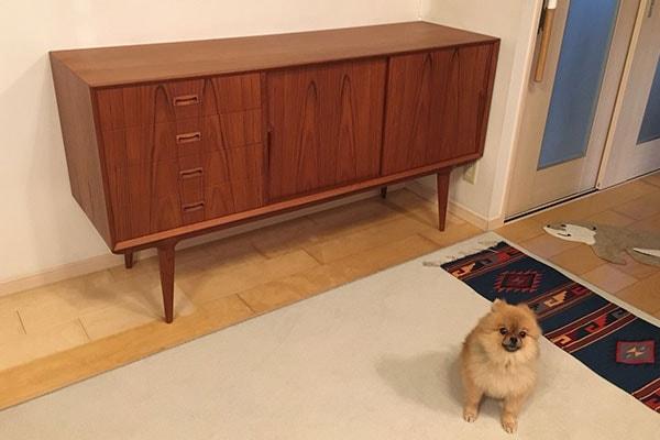 北欧ビンテージ家具 sideboard bu oman