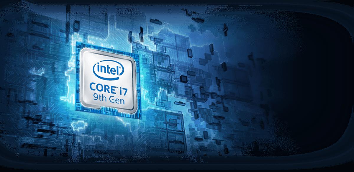 Intel Corei7 9th Gen CPU