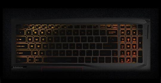 SteelSeriesゲーミングキーボード