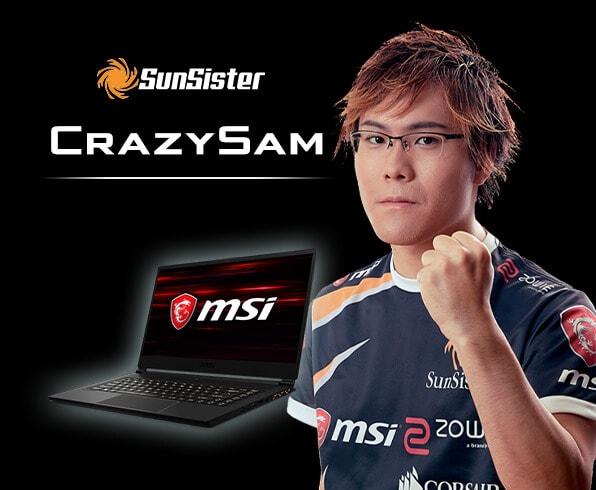 SunSisuter CrazySam