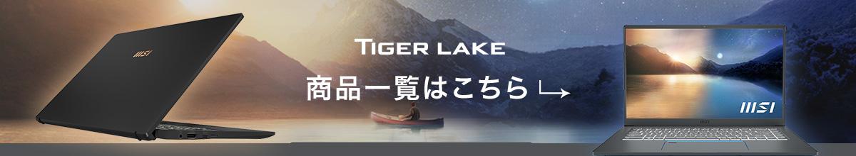 Tiger Lake 商品一覧はこちら