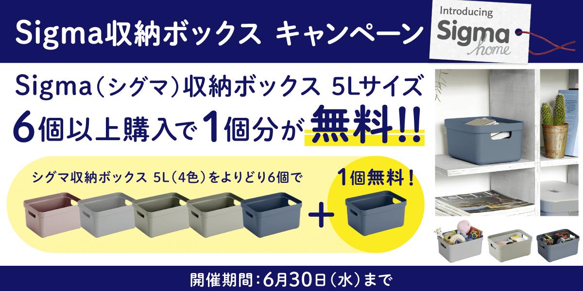 シグマ 収納ボックス