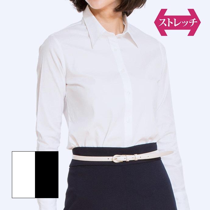 長袖/ホワイト