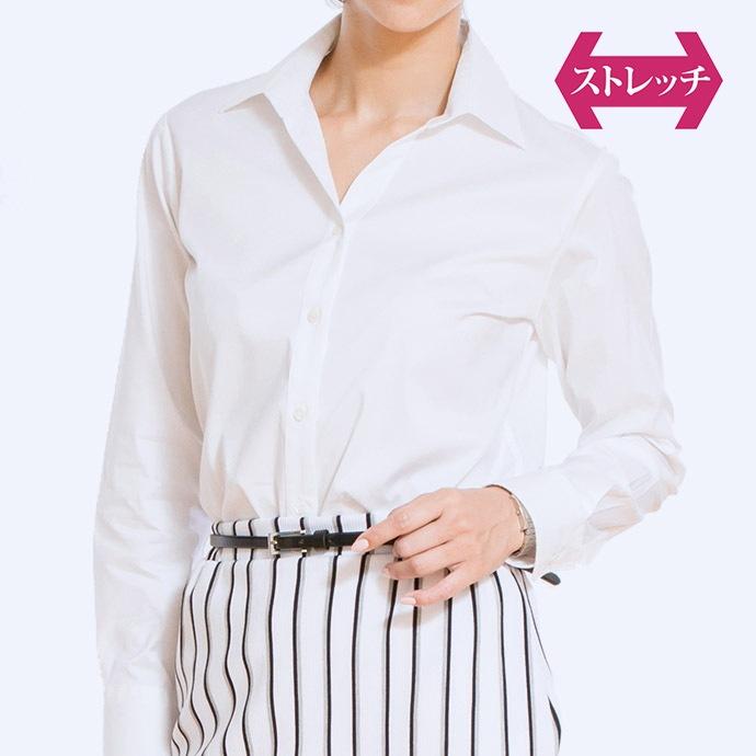スキッパーシャツ/ホワイト