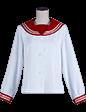 セーラー服(前開きタイプ・ボタン)