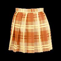 プリント柄プリーツスカート
