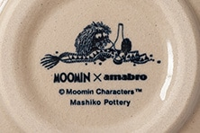 ムーミン×アマブロ 益子釉薬小皿(amaburo)