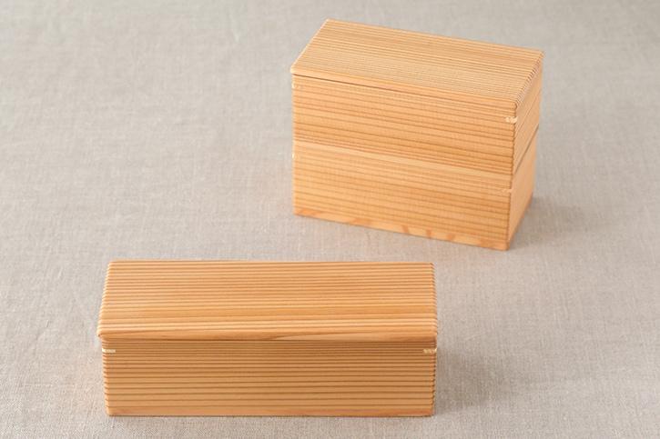 りょうび庵の木の弁当箱(秋田杉のお弁当箱)