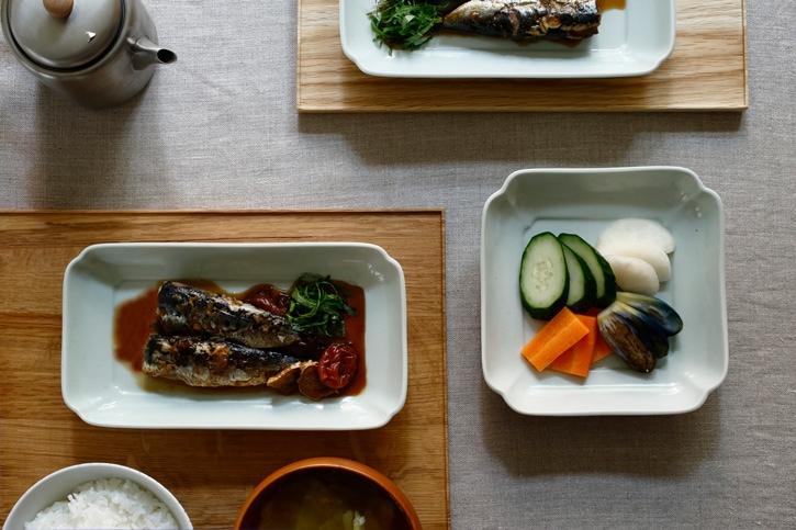 木瓜角皿(東屋)