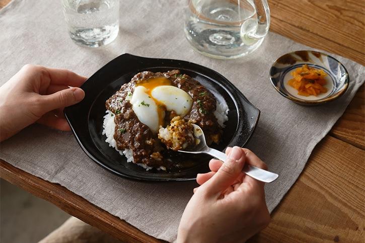 楕円形皿(福光焼)