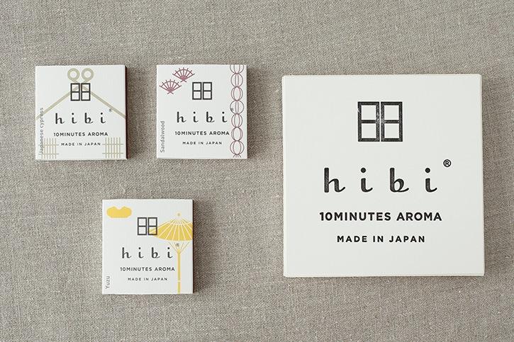 hibi 10 MINUTES AROMA 和の香り (hibi)