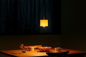 食卓のランプシェード(イイホシユミコ)