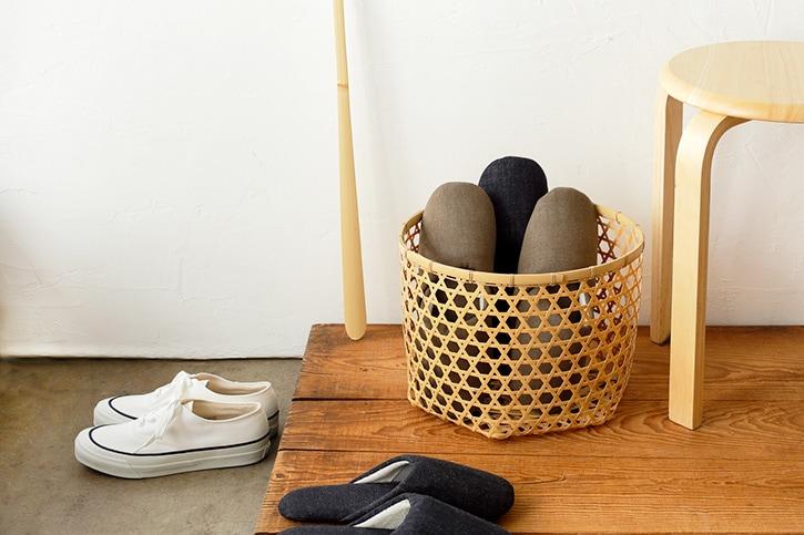 白竹の「ランドリーバスケット」