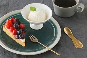 ケーキフォーク・デザートスプーン&フォーク(ルー/Lue)