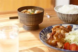 BASE01 汁椀/汁椀乱筋 (ろくろ舎)