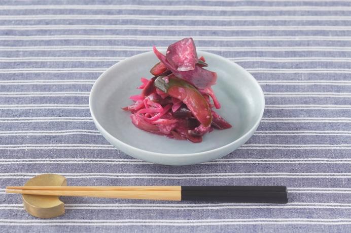 森本桃世さんに教わる「梅酢の柴漬け」