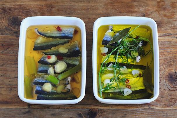 中川たまさんに教わる「秋刀魚のオイル漬け」