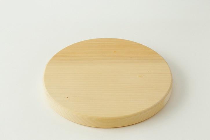 いちょうの木のまな板 まん丸  (ウッドペッカー/woodpecker)