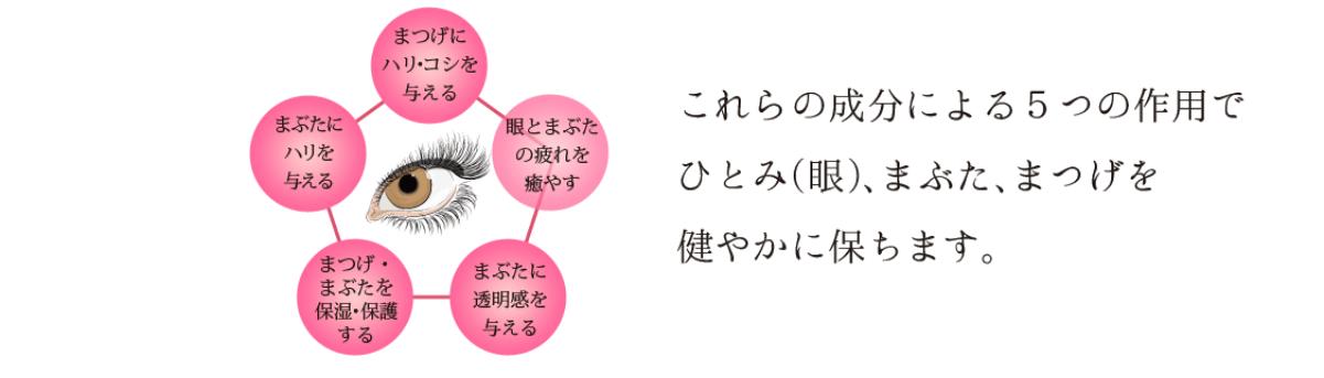 5つの作用