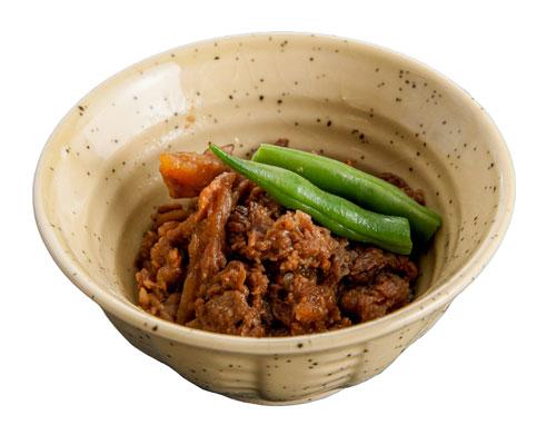 牛肉と舞茸の味噌煮