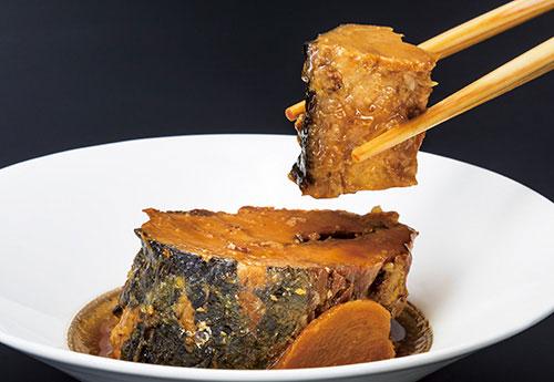 焼き鯖醤油煮缶詰詰合せ