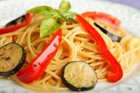 とり野菜みそ調理例3 みそスパゲッティ
