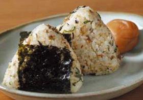 焼き鯖ひじきの食べ方例