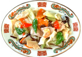 塩味 肉野菜炒