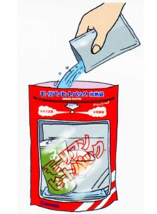 加熱セットご使用方法