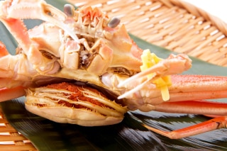 越前せいこ蟹を丸ごと身から蟹みそ、内子、外子