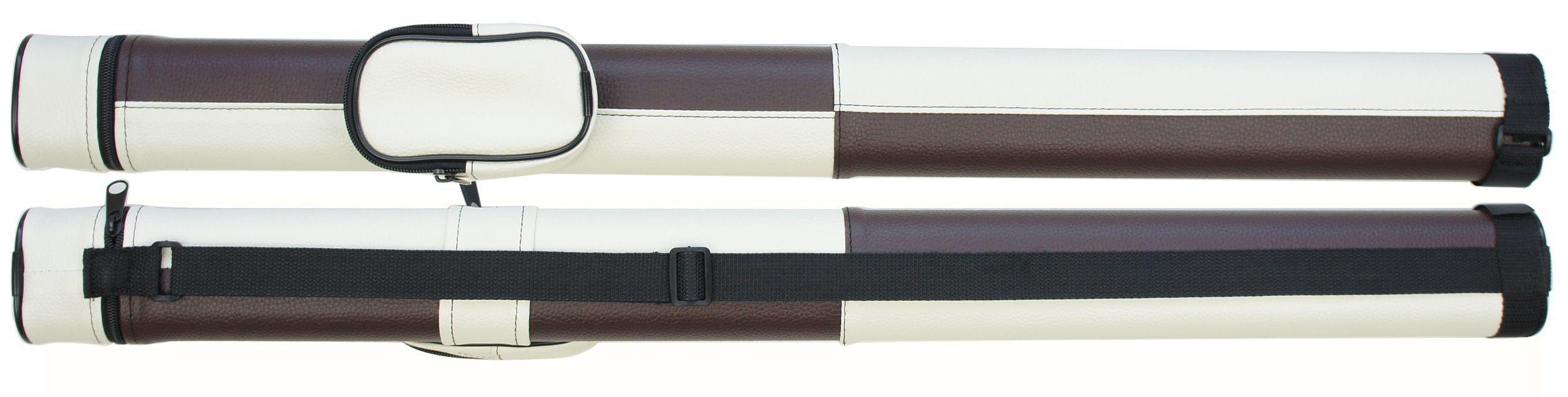 ケース コンビ ホワイト×ブラウン 62216p (バット1本シャフト1本収納) 商品画像