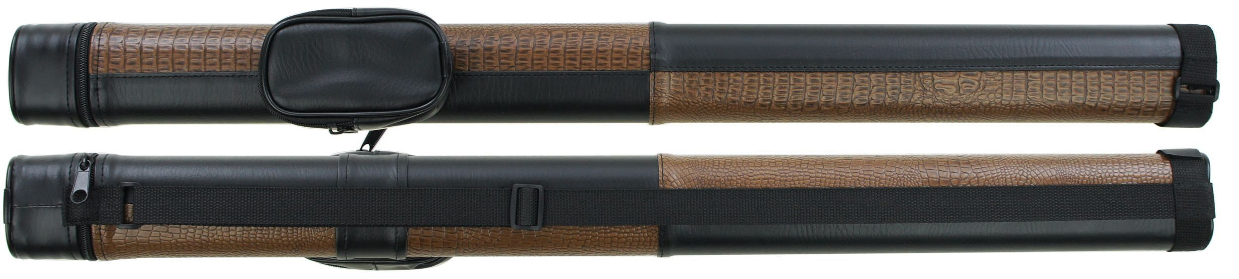 ケース コンビ ブラック×クロコブラウン 62216p (バット1本シャフト1本収納) 商品画像