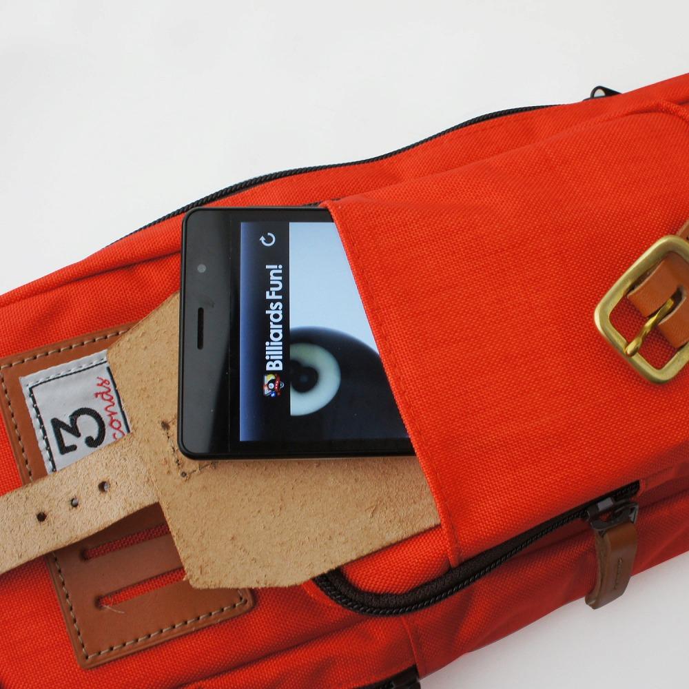 スリーセカンズ ケース オレンジ 3B4S (バット3本シャフト4本収納)商品サブ画像