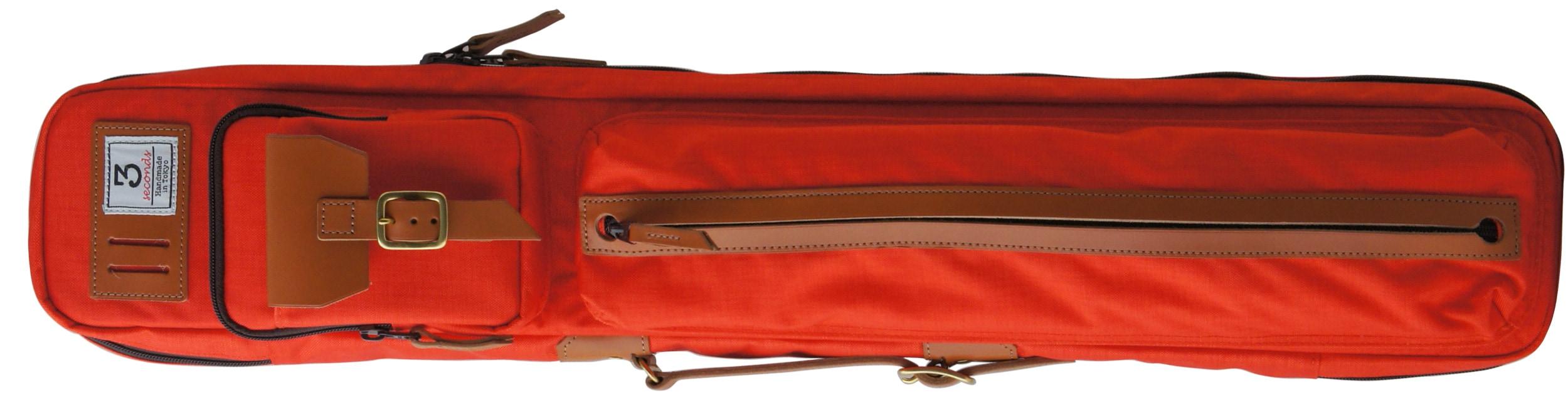 スリーセカンズ ケース オレンジ 3b4s (バット3本シャフト4本収納) 商品画像