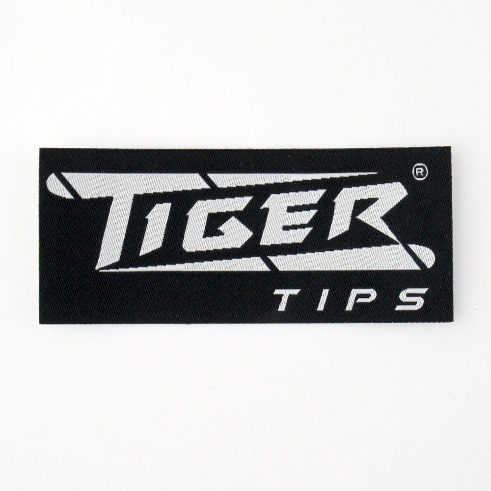 【メール便可】Tiger タイガー ワッペン ロゴ 黒商品サブ画像
