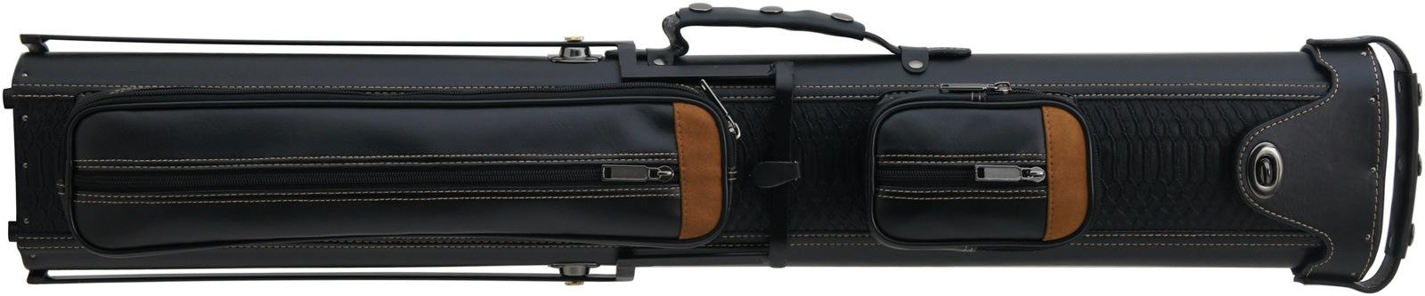 ケース ブラック×ブラウン自立スタンド付 62235 (バット2本シャフト4本収納) 商品画像