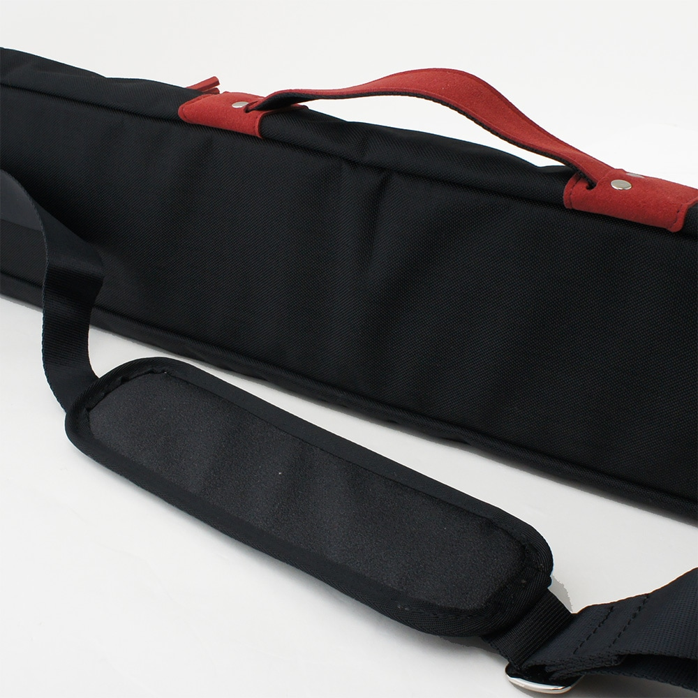 スリーセカンズ ケース  2B4S ブラック/レッド (バット2本シャフト4本収納)商品サブ画像