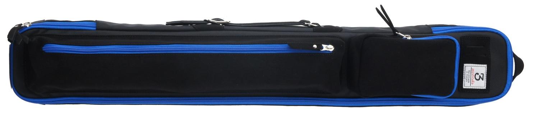 スリーセカンズ ケース ブラック/ブルー 2b4s キャロム・ポケット兼用  商品画像