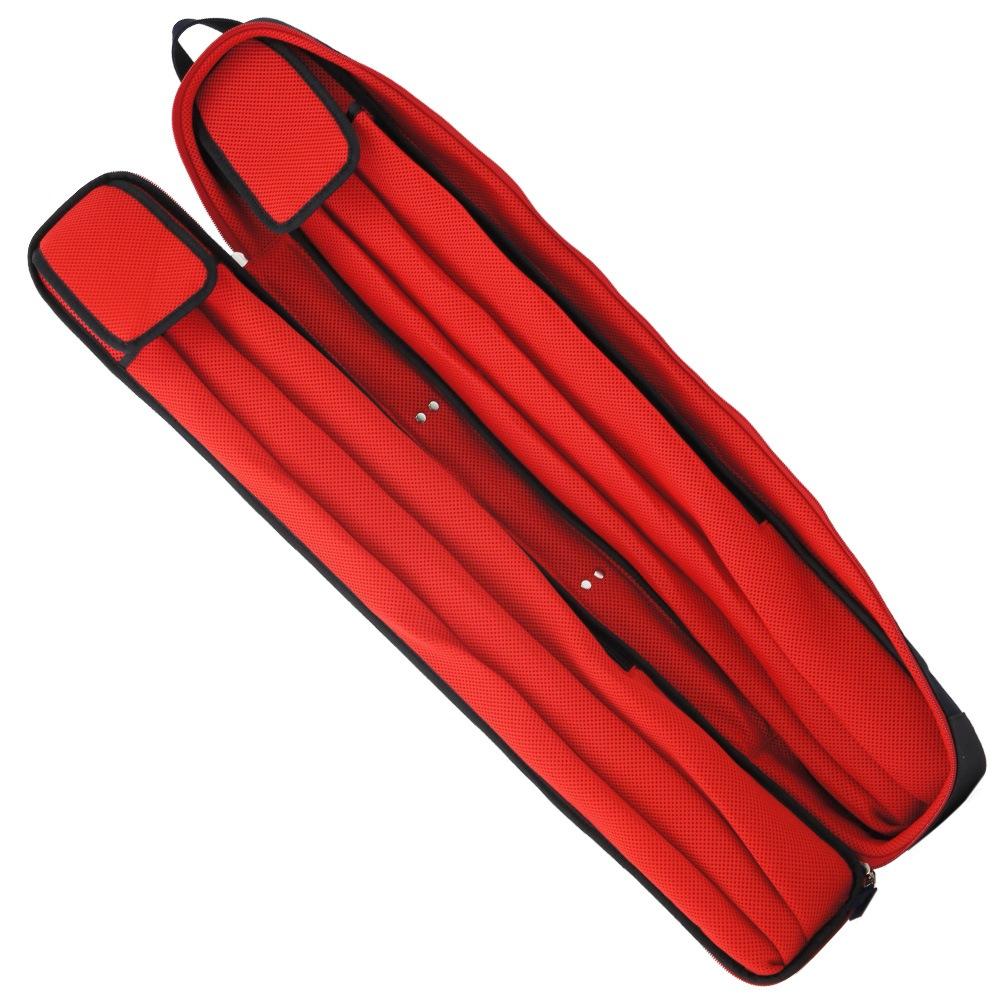 スリーセカンズ ケース ネイビー/レッド 2B4S キャロム・ポケット兼用商品サブ画像