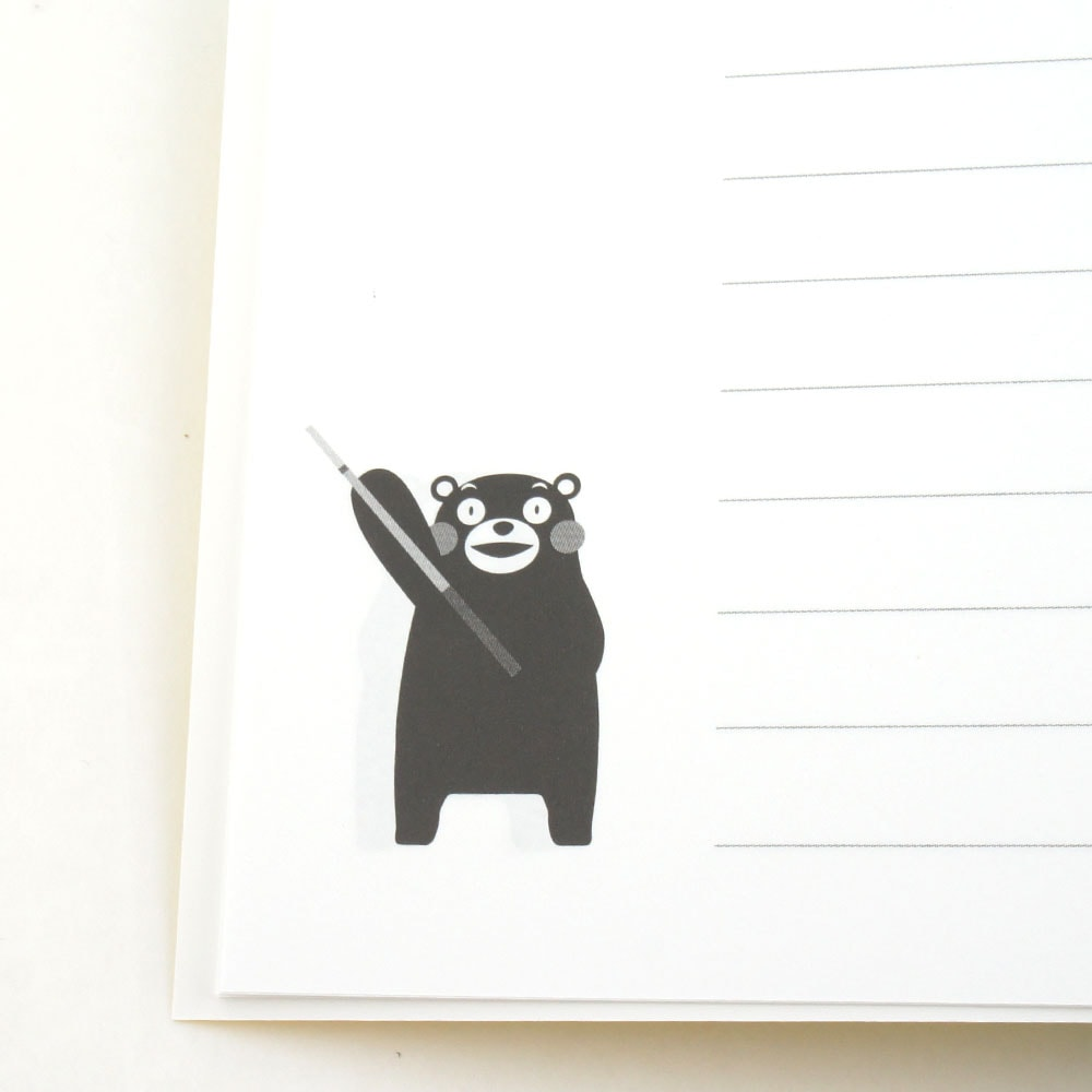 【メール便可】くまモン×ビリヤード B5ノート 単品 (熊本城復旧支援品)商品サブ画像