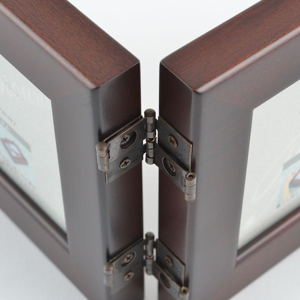 ダブルフォトフレーム FMF352HW ウォールナット商品サブ画像