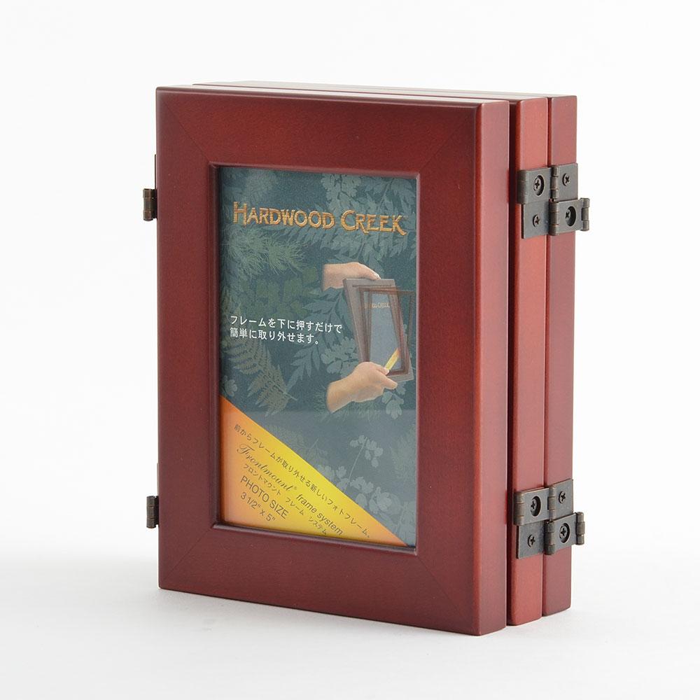 トリプルフォトフレーム FMF353C チェリー商品サブ画像