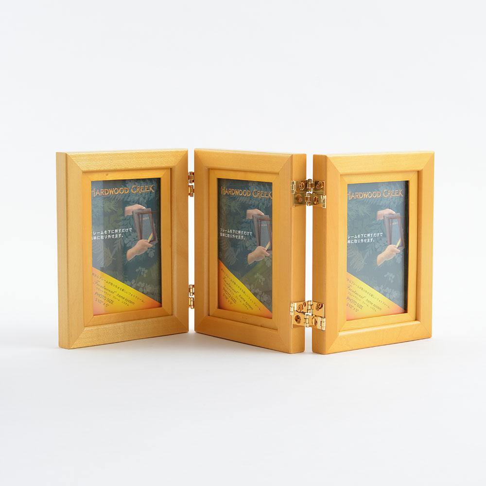 トリプルフォトフレーム FMF353O ゴールデンオーク商品サブ画像