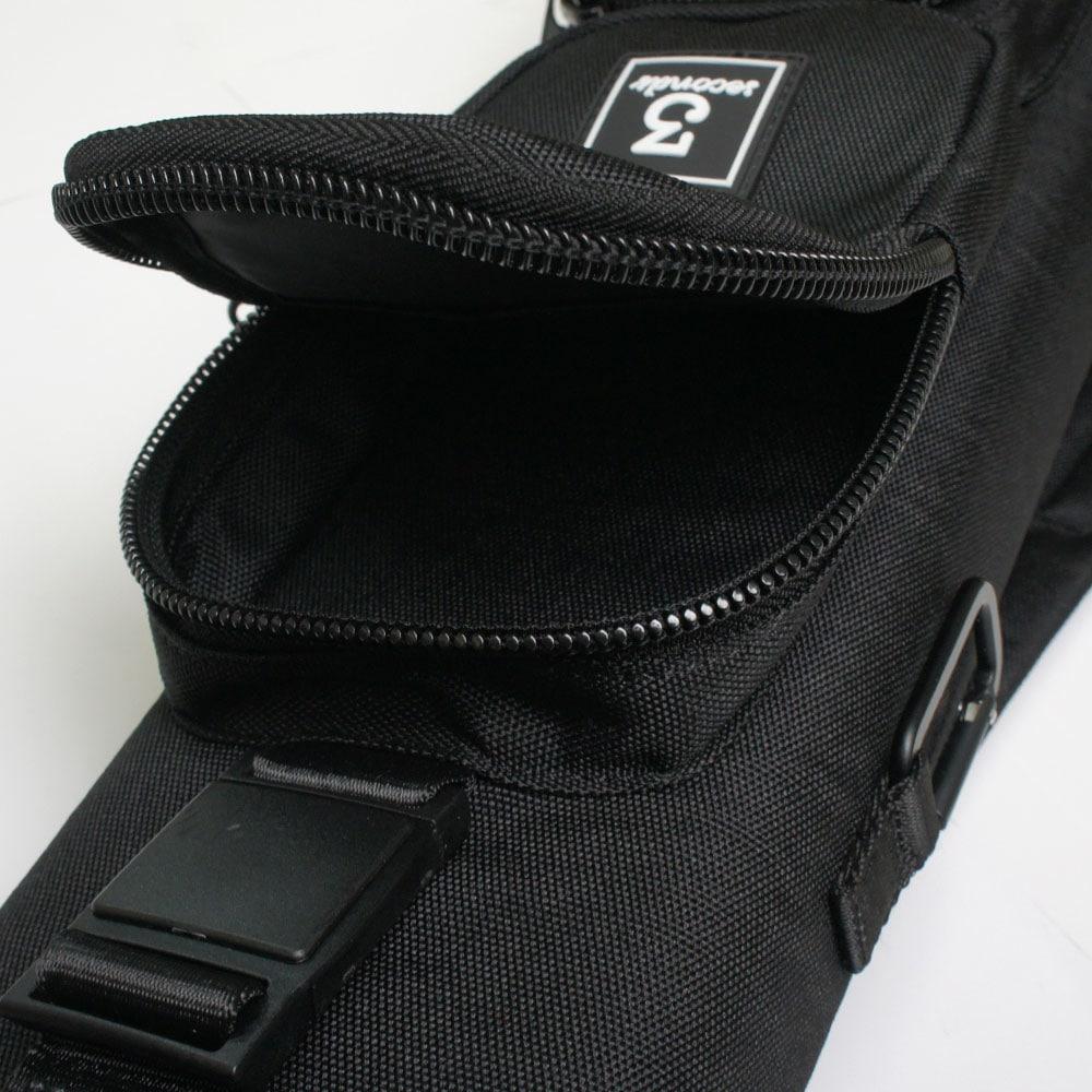 スリーセカンズ ハードケース ブラック/黒 3B5S (バット3本シャフト5本収納)商品サブ画像