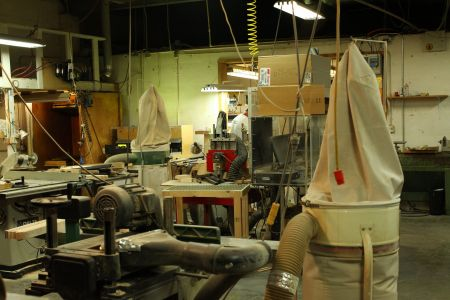 タイガー製品製作工場内風景