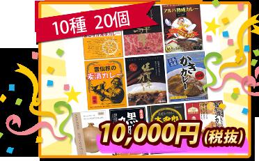 10種20個セット1万円